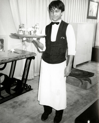 Andy Warhol, 'Young Waiter in Paris ', 1978