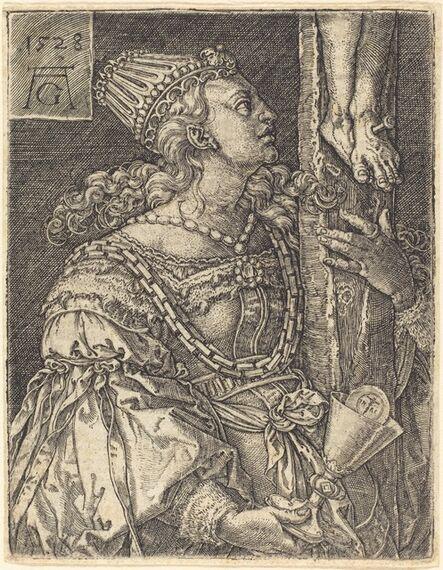 Heinrich Aldegrever, 'Faith', 1528