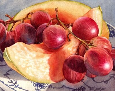"Kathrine Lemke Waste, '""Grapes and Melon""'"