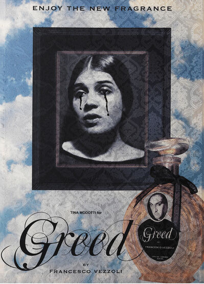 Francesco Vezzoli, 'Enjoy The New Fragrance (Tina Modotti For Greed)', 2009