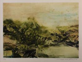 Zao Wou-Ki 趙無極, 'No title', 1986