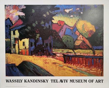 Wassily Kandinsky, 'Wassily Kandinsky, Tel Aviv Museum of Art Museum Poster, Gallery Poster ', 1988