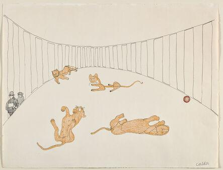 Alexander Calder, 'Lion Cage', 1931