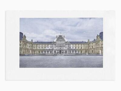 JR, 'Le Louvre revu par JR', 2016