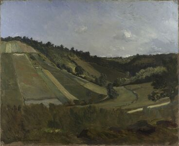 Philippe Rousseau, 'A Valley', about 1860