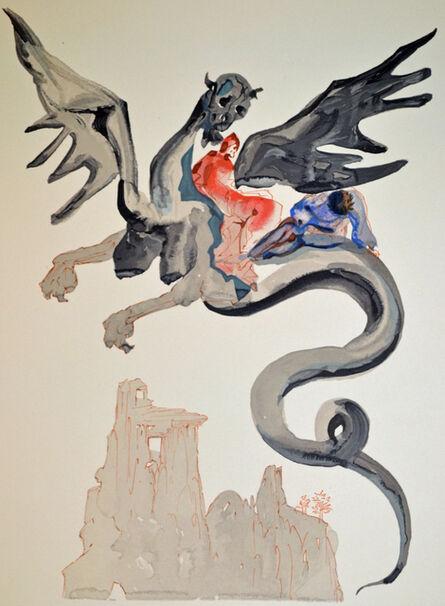 Salvador Dalí, 'The Usurers, inferno canto 17, The Divine Comedy', 1960