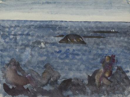 John Marin (1870-1953), 'Sea Fantasy, Maine', 1937