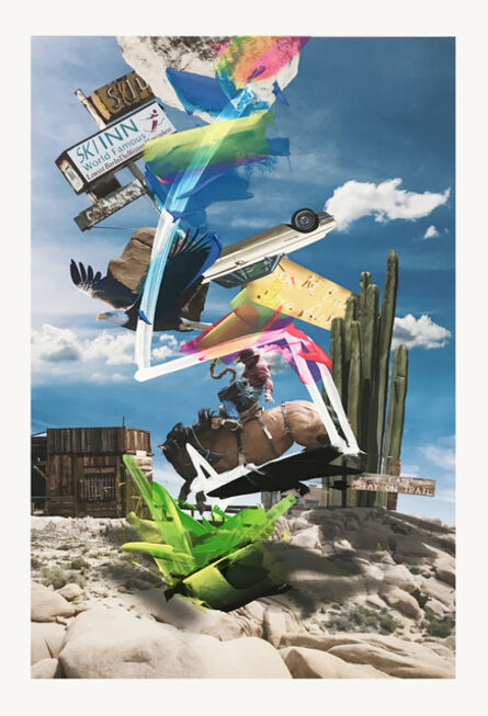 Paul-Andre Larocque, 'Desert POP:  Joshua Tree Park 2', 2015