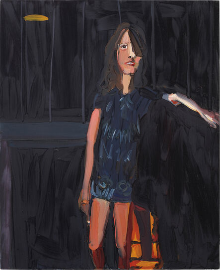 Chantal Joffe, 'Woman in Front of a Fire', 2003