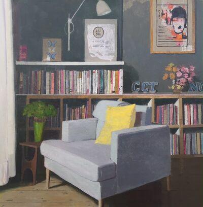 Mark Entwisle, 'Yellow Cushion ', 2017