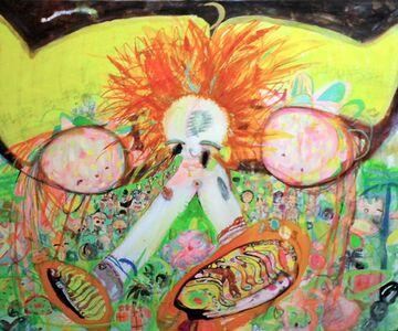 Sakurako Hamaguchi, 'Tomorrow, the Island becoming the God', 2010