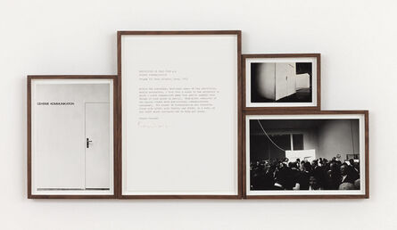 Franco Vaccari, 'Esposizione in Tempo Reale n.5, Comunicazione segreta', 1974