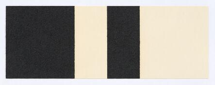 Richard Serra, 'Horizontal Reversal I', 2017