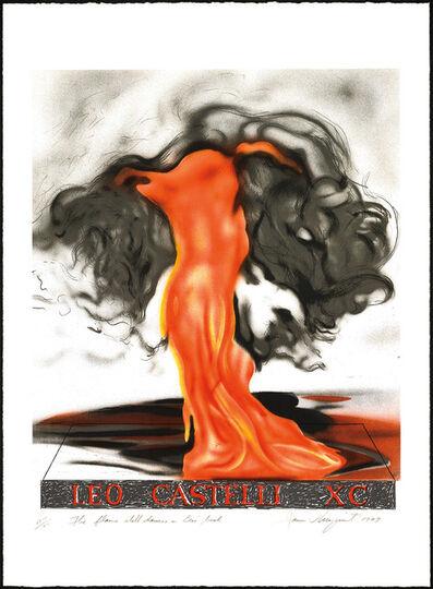 James Rosenquist, 'Flame Still Dances on Leo's Book (Leo Castelli 90th Birthday Portfolio), 1997', 1997