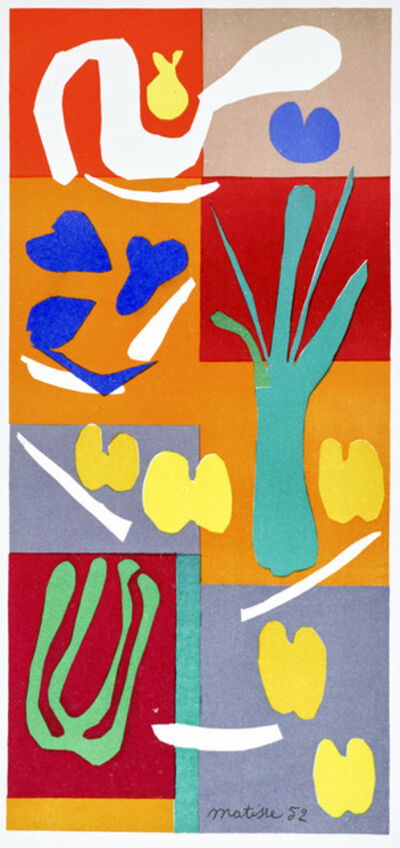 Henri Matisse, 'Végétaux, from Verve, Vol. IX, 35/36', 1952