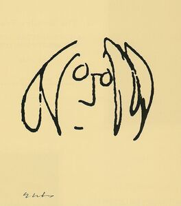John Lennon, 'Self Portrait', 2000