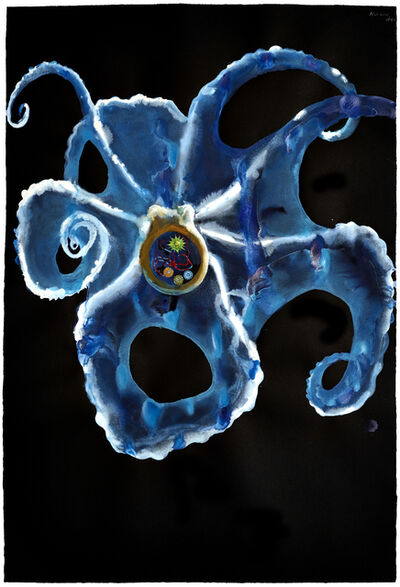 Alexis Rockman, 'Untitled (Drape Octopus)', 2013