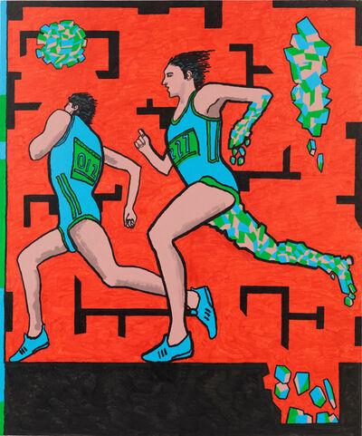 Derek Boshier, 'Chemical Track', 2008