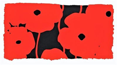 Donald Sultan, 'Eight Poppies', 2010