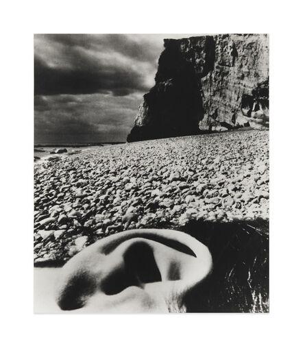Bill Brandt, 'Nude, East Sussex Coast', 1957