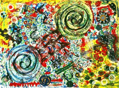 Pacita Abad, 'Close to you, Enki's whirl', 2003