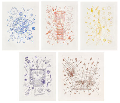 Analía Saban, 'One-Continuous Line Series', 2016