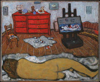 ĐURO PULITIKA, 'Lying Nude in the Interior', 1978
