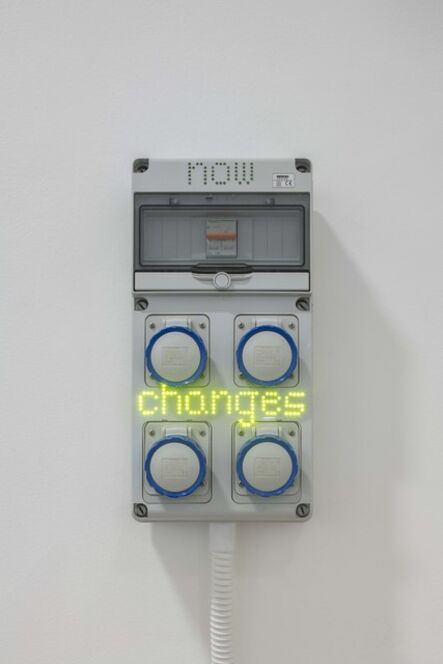 Hassan Khan, 'Sentences for a New Order: now changes', 2018