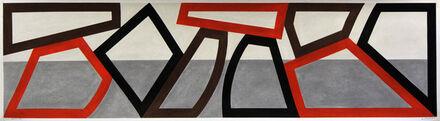 David Tremlett, 'F&R Sketch (4)', 2014