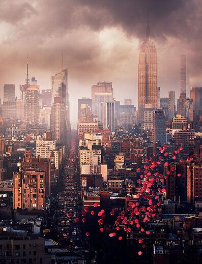 David Drebin, 'Balloons Over New York', 2016