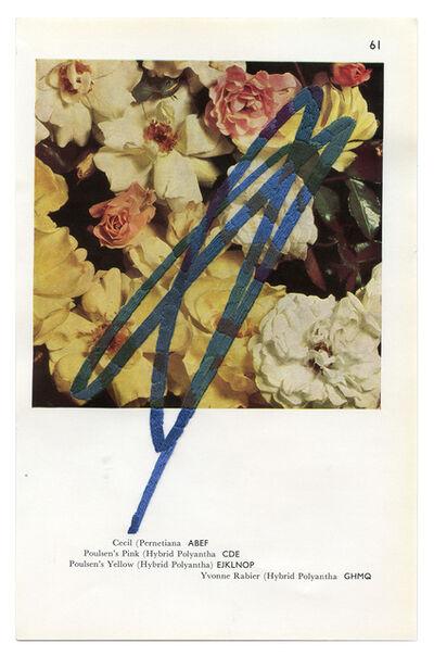 Julie Cockburn, 'Scribble Rose 1', 2020