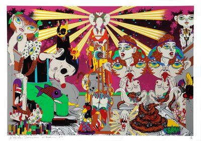Keiichi Tanaami, 'Feast In The Peachy Heaven (Day)', 2010