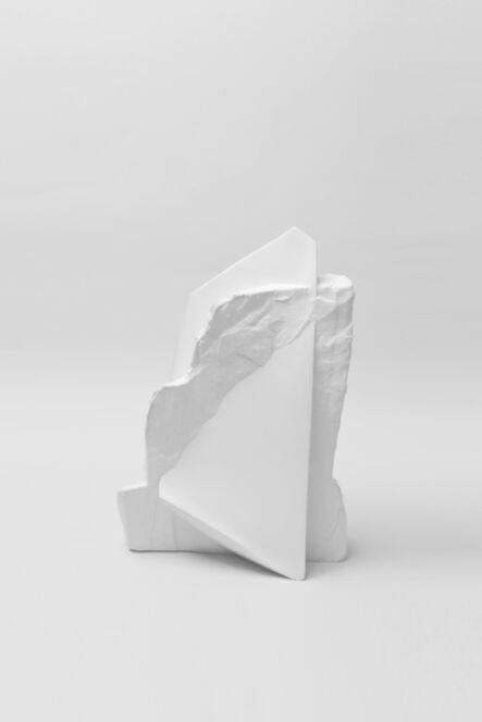 Haoyu Wu, 'New Stoneware White Porcelain Vase No.5', 2014