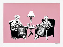 Banksy, 'Grannies (Signed)', 2005