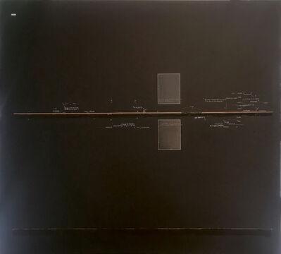 Carlo Alfano, 'Ein Halberg Ring', 1974