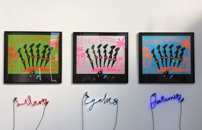 Wayne Barker, 'Slavery to the Rhythm Installation', 2015