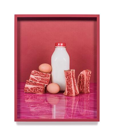 Elad Lassry, 'Short Ribs, Eggs', 2012