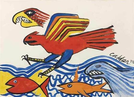 Alexander Calder, 'Eagle and Fish', 1975