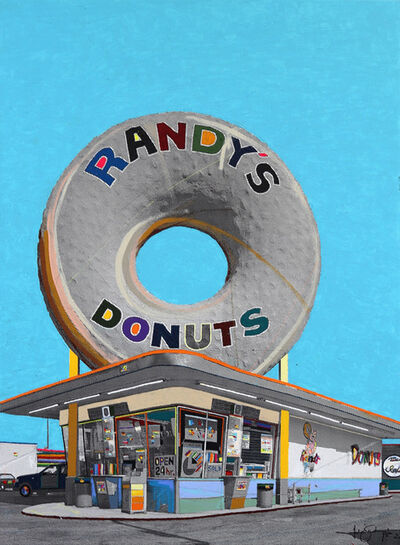 Fabio Coruzzi, 'Giant Donut in Inglewood #26', 2021