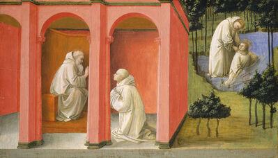 Fra Filippo Lippi, 'Saint Benedict Orders Saint Maurus to the Rescue of Saint Placidus', ca. 1445/1450