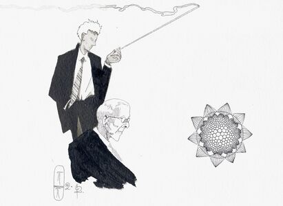Pavel Pepperstein, 'A Traitor to Hell (Illustration for the book The Secret of our Time)', 2012