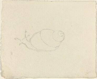 John Flaxman, 'Snails [recto and verso]'