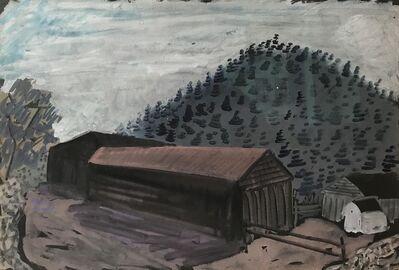 Milton Avery, 'Untitled (Long Barn)', 1937