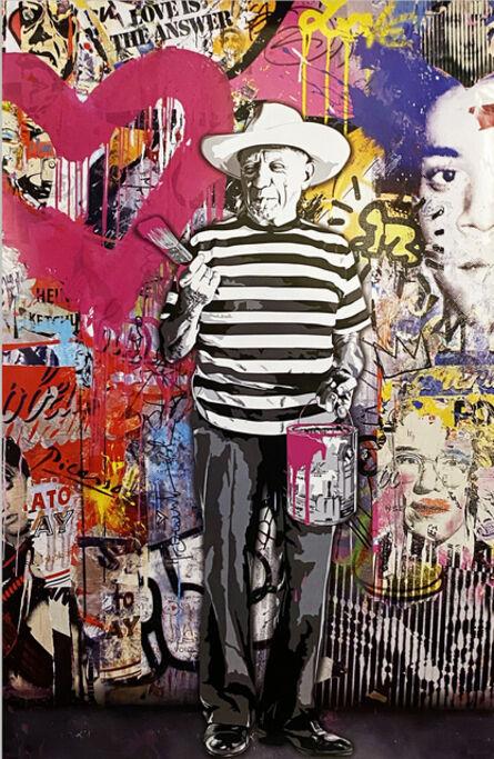Mr. Brainwash, ''Picasso'', 2011