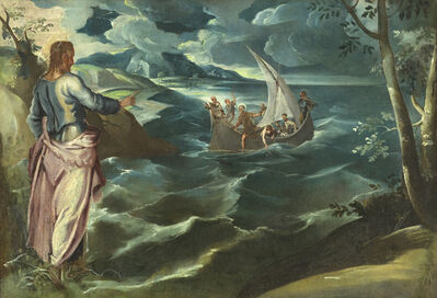 Jacopo Tintoretto, 'Christ at the Sea of Galilee', ca. 1575-80