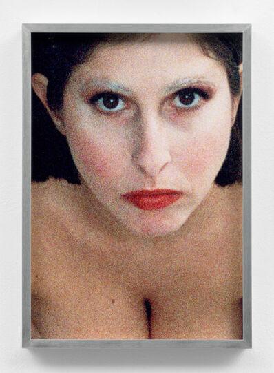 Talia Chetrit, 'Self-portrait (Corey Tippin make-up #1)', 2017