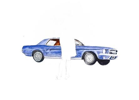Charles Buckley, 'Blue Mustang', 2008