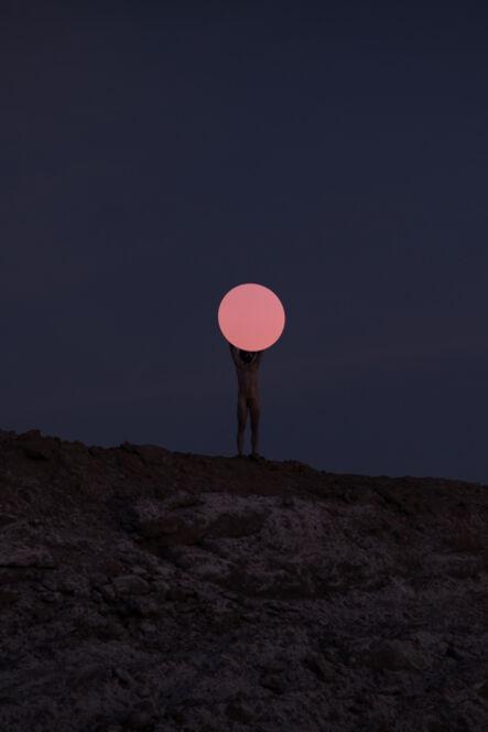 Nicolas Sanchez (b. 1981), 'Estudio sobre el ocaso en una mina abandonada', 2018