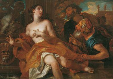 Johann Michael Rottmayr, 'Susanna and the two elders', 1692