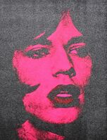 Russell Young, 'Mick Jagger (Red Lips) DVII2011', 2011